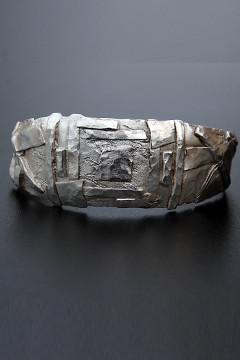 Bracelet argent massif - création unique